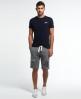 Superdry Core Applique Shorts Grey