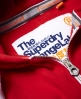 Superdry Orange Label Primary Zip Kapuzenjacke Rot