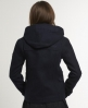 Superdry Cropped Duffle Coat Navy