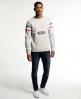 Superdry Trackster Crew Sweatshirt Grey