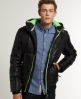 Superdry Polar Puffer Jacket Black