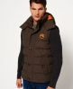 Superdry Everest bodywarmer  Groen