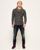 Superdry Jacob Shawl Cardigan Grey