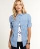 Superdry Calamity Print Shirt Blue