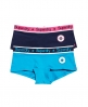Superdry Star Sport Boxers Double Pack Turquoise