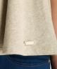 Superdry Luxe Sorority Top Light Grey