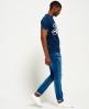 Superdry The Craftsman Indigo T-Shirt Blau