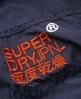 Superdry Pop Zip Windcheater Navy