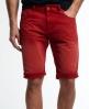 Superdry Worn Wash Jean Shorts Red