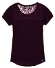 Superdry Super Sewn Rugged Lace T-Shirt  Lila