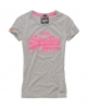Superdry Vintage Entry T-shirt Light Grey