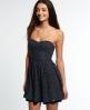 Superdry 50s Tropical Print Dress Navy