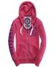 Superdry Track & Field Hoodie Pink