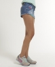 Superdry Low Rise Hotpant Rawedge Blue