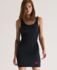 Superdry Body Con Dress Black