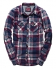 Superdry Lumberjack Twill Shirt Navy