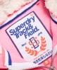 Superdry Tracker & Field Borg Zip Hoodie Pink