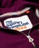 Superdry Orange Label Primary Kapuzenjacke mit Reißverschluss Lila
