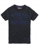 Superdry Coaching T-shirt Dark Grey