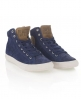 Superdry Suede Series High Top Blue