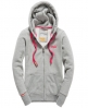 Superdry Orange Label Zip Hoodie Grey