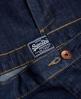 Superdry Button Down Midirock Blau