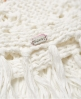 Superdry Willow Crochet Kimono Cream