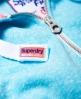 Superdry Track & Field Zip Hoodie Blue