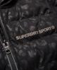 Superdry SD Sport Gym vattert regnjakke  Svart