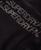 Superdry Night Runner Sport-BH  Schwarz