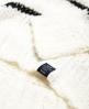 Superdry Textured Stripe Tape Knit Jumper Cream