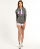 Superdry Brush It Hoodie Grey