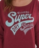 Superdry Super Burnout T-shirt Red