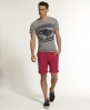 Superdry Vintage Bermuda Shorts Red