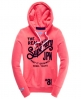 Superdry Keep It Hoodie Pink
