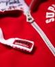 Superdry Track & Field Kapuzenjacke mit Reißverschluss Rot