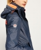 Superdry Veste Pop Zip Hooded Arctic Windcheater Gris