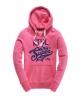 Superdry Base Line Hoodie Pink