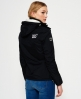 Superdry Veste à capuche Pop Zip Arctic Windcheater Noir