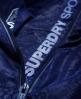 Superdry Gym Funnel Shell Kapuzenjacke Marineblau