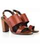 Superdry Blake Heeled Sandals Brown