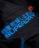 Superdry Pop Zip Windcheater Jacket Black