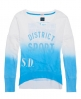 Superdry Acid Old English Top Blue