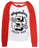 Superdry California Flame Top Red