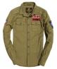 Superdry Army Corps skjorte med lange ærmer Grøn