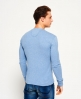Superdry Heritage Grandad Top  Blue