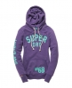 Superdry Coaching 68 Hoodie Purple