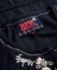 Superdry Folk Embroidery Bluse Marineblau