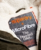 Superdry Microfibre Gilet  Green