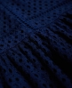 Superdry Geo Lace Mix Skater-Kleid  Marineblau